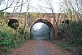 Castle Lane Bridge over Cycleway 2 - geograph.org.uk - 1111854.jpg
