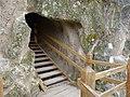 Castle of Sirok - stairway to the upper castle.jpg