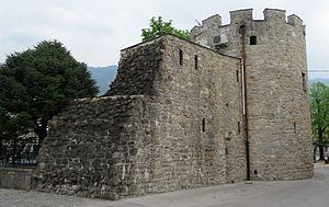 Castra ad Fluvium Frigidum - Remnants of the Ancient Roman Castra