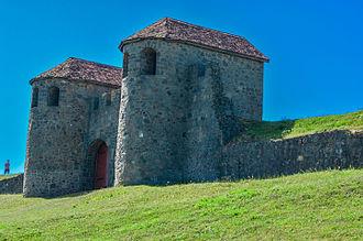 Zalău - Porta Praetoria, the gate of ancient Roman castra at Porolissum