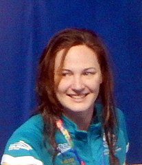 Cate Campbell - Kazan 2015 - Victory Ceremony 100m freestyle.jpg