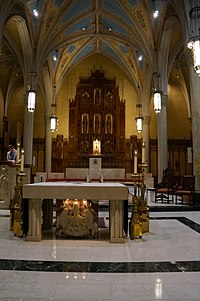 Cathedral of St. John the Evangelist - Cleveland, OH Interior.jpg
