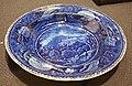 Catskill Mountain House (soup plate), Enoch Wood & Sons, Burslem, England, c. 1840, glazed earthenware - Brooklyn Museum - DSC09358.JPG