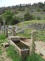 Cattle trough below 'Piper's Crag' - geograph.org.uk - 837378.jpg