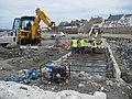 Causeway restoration work at Marazion - geograph.org.uk - 1389103.jpg