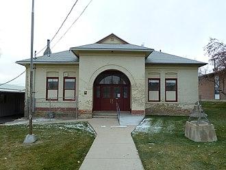 Cedar Fort, Utah - Cedar Fort School, November 2014