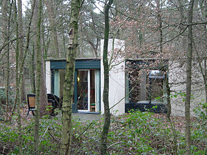 Center Parcs - An original Center Parcs Cottage (named 'Villas' in UK resorts), designed by the Dutch architect Jaap Bakema.