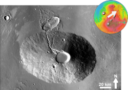 Ceraunius Tholus based on THEMIS Day IR.png