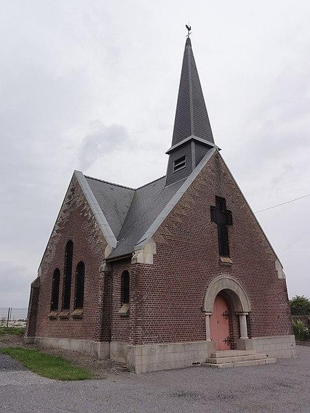 Cerizy (Aisne) église Saint-Brice