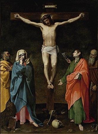 Bartolomeo Cesi - Bartolomeo Cesi, Crucifixion