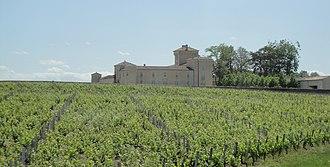 Château Lafaurie-Peyraguey - Château Lafaurie-Peyraguey and vineyards