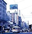 Chūō-dōri, Ginza (1967-05-01 by Roger W).jpg