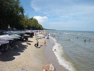 Phetchaburi Province - Cha-am Beach