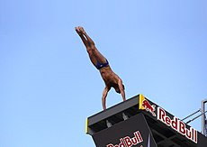High diving wikipedia - Red bull high dive ...