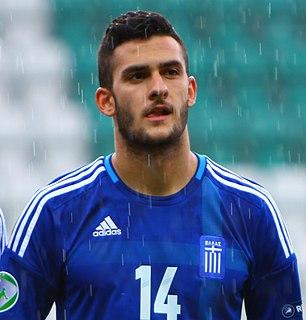 Charalampos Lykogiannis Greek footballer