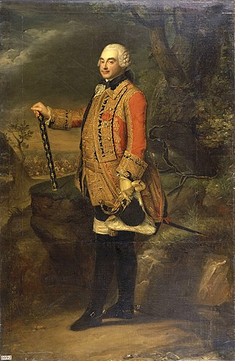 Battle of Lutterberg (1758) - The Prince of Soubise, with his earned Marshal's baton