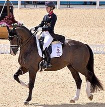 Charlotte Dujardin 2012 Olympic Dressage-1.JPG