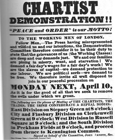 essay on chartism Why did chartism fail  chartism failed because of economic factors – it was simply a 'knife and fork question'  chartism failed because of the inherent weakness of the movement and internal divisions within the movement  chartism did not really fail in the truest sense of the word – it was defeated by the state.