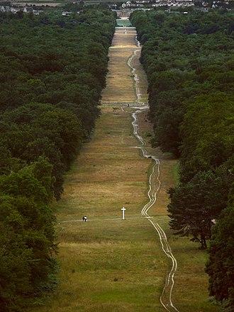 Forest of Compiègne - Avenue de Beaux Monts, the promenade into the forest from the Château de Compiègne