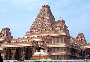 Chhatarpur Temple - A South Indian-style temple added in the complex