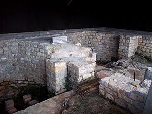 Laconicum - Laconicum at Chedworth Roman Villa
