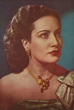 Chela Campos on the cover of Melodías mexicanas.jpg