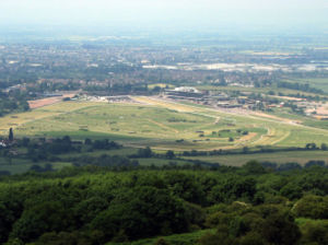 The Racecourse from Cleeve Hill
