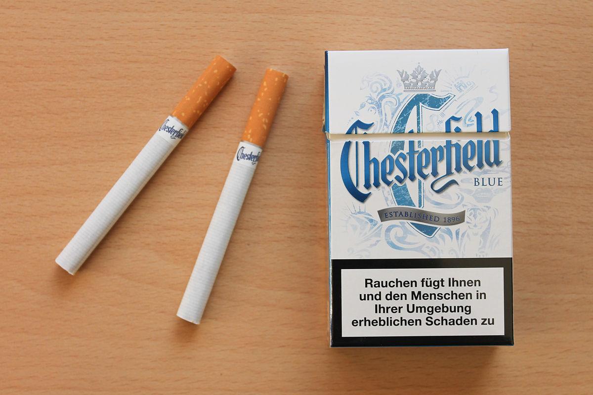 Chesterfield (cigarette) - Wikipedia