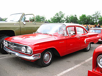 Chevrolet Biscayne - 1960 Biscayne four-door sedan