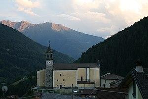 Monno - Parish church