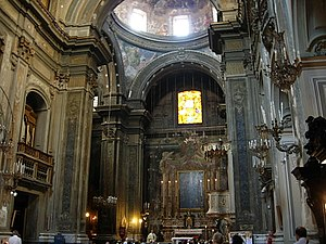 Santa Brigida, Naples - Interior