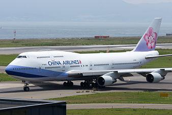 China Airlines, B747-400, B-18208 (18783789854).jpg