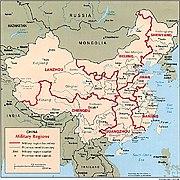 China military regions