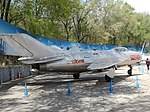 Chinese Air Force Fighter Jet, Beijing Aviation Museum (26408772091).jpg