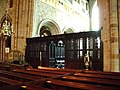 Choir screen,The Priory Church of St Mary and St Michael, Cartmel - geograph.org.uk - 447165.jpg