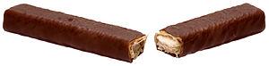 Chomp (chocolate bar) - An Australian Chomp split