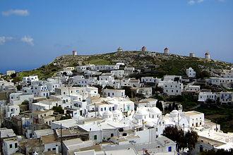 Amorgos - View of Chora (Amorgos)