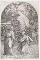 Christ Walking on Water, Holding the Hand of St. Peter (Second Composition), from Les Tableaux de Rome, Les Eglises Jubilaires (The Paintings of Rome, The Churches Jubilee), plate 9 MET DP875700.jpg