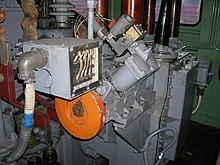 Переключатель ступеней электровоза ЧС4Т.
