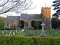 Church and War Memorial Roxton - geograph.org.uk - 162464.jpg