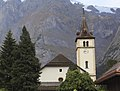 Church and Wetterhorn from Grindelwald - panoramio (cropped).jpg