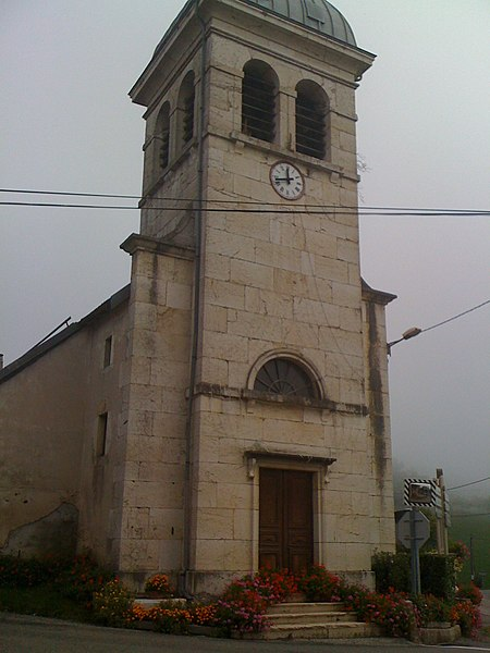 Church at Brenaz, Ain, France