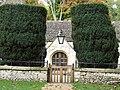 Church gate and yews - geograph.org.uk - 1551144.jpg