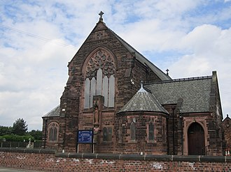 Bryn, Greater Manchester - Image: Church of Our Lady Immaculate, Bryn