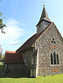 Church of St Michael, Leaden Roding, Essex, England - from north-west.jpg