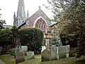 Churchyard, St. Michael and All Angels - geograph.org.uk - 2372598.jpg