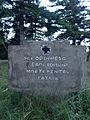 Cimitirul ostaşilor români şi germani (1916-1919) - AICI ODIHNESC EROI ROMANI MORTI PENTRU PATRIA.JPG