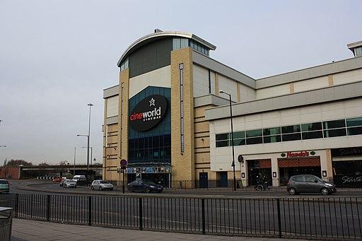 Cineworld cinemas in Middlesbrough - geograph.org.uk - 1734529