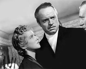 Citizen Kane - The affair between Kane and Susan Alexander (Dorothy Comingore) is exposed by his political opponent, Boss Jim W. Gettys (Ray Collins)