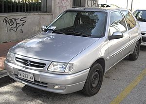 Citroën Saxo 2nd Generation (1998-1999)
